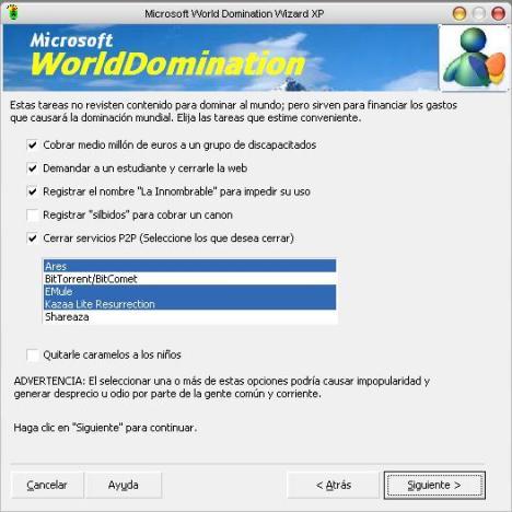 Microsoftworlddomination