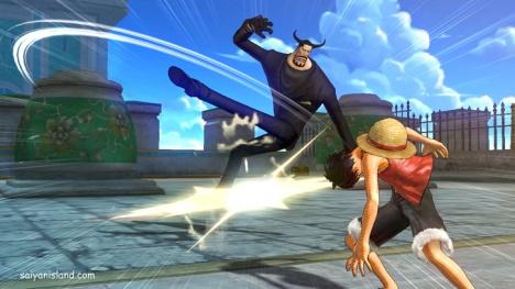 Recrear las mejores peleas de One Piece al estilo más puleteclas.