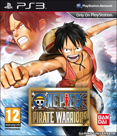 Koei + One Piece? La primera vez k vi esta portada pense que era un fake!