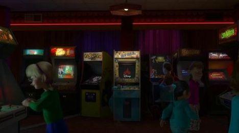 La sala de maquinas de la película