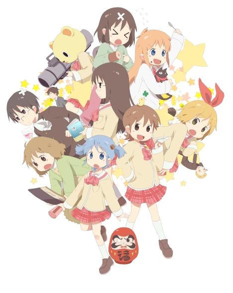 Los personajes de la serie