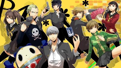 Los personajes principales de P4A