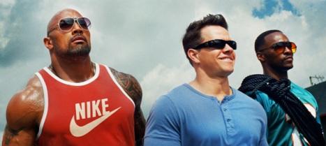 Los protas de la cinta: Paul, Daniel y Adrian (Imagen de Paramount Pictures)