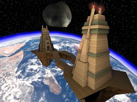 Face es un asteroide con 2 fuertes que esconden 2 banderas y dos Redentores. Supera tú eso.