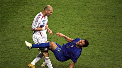 Zidane-was-given-a-red-card-for-a-headbutt-to-the-chest-of-Marco-Materazzi-during-the-2006-World-Cup-final-lost-to-Italy-football